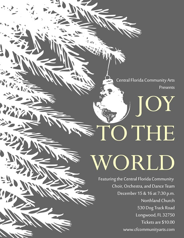 CFCA Joy To The World Poster