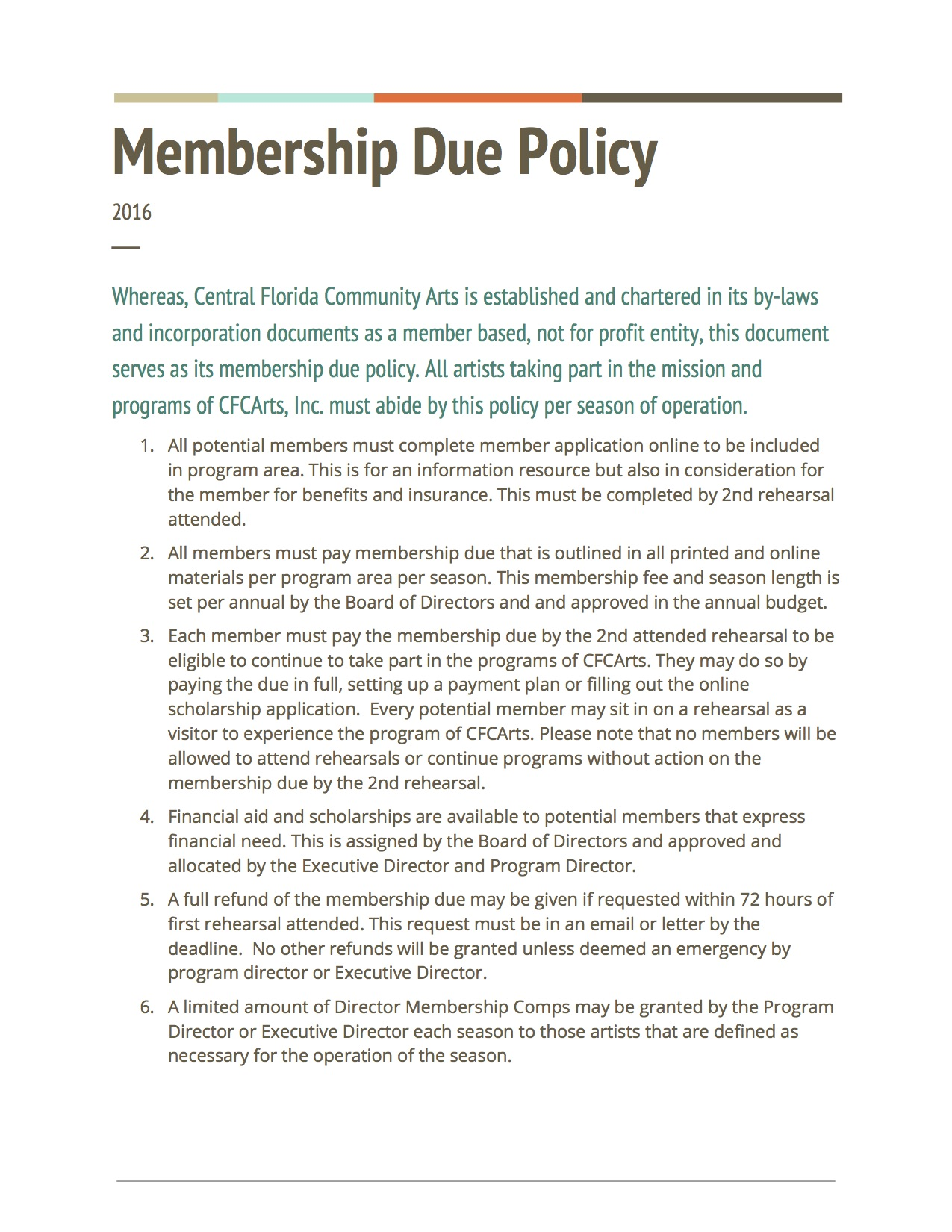MembershipDuePolicy-2