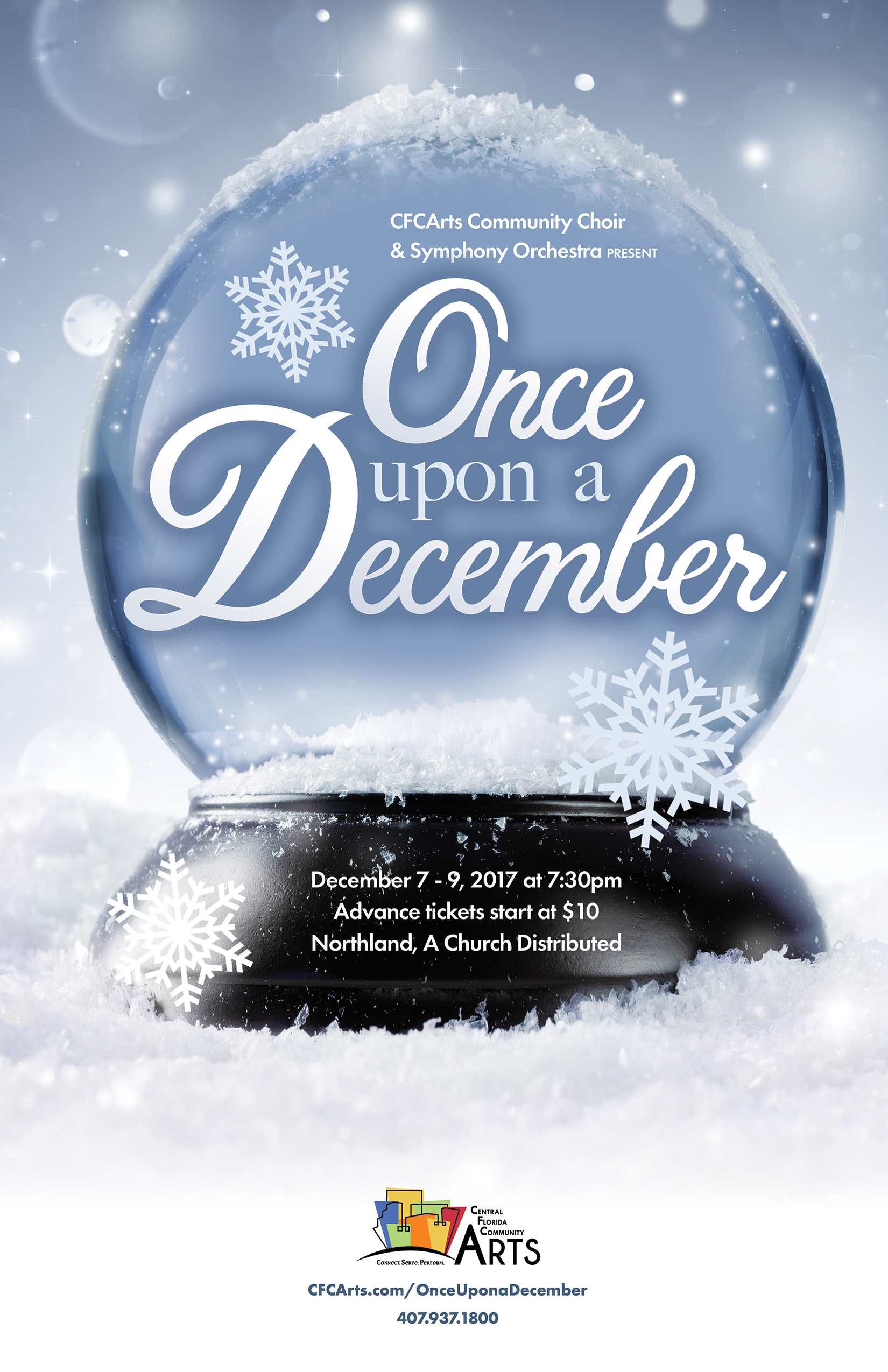 Once Upon A December – Central Florida Community Arts